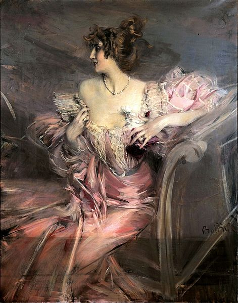 Lukisan Marthe de Florian
