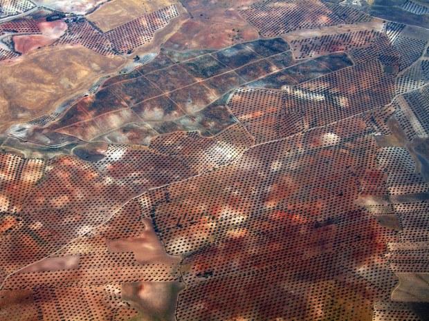 Madrid, Spanyol via pesawat terbang