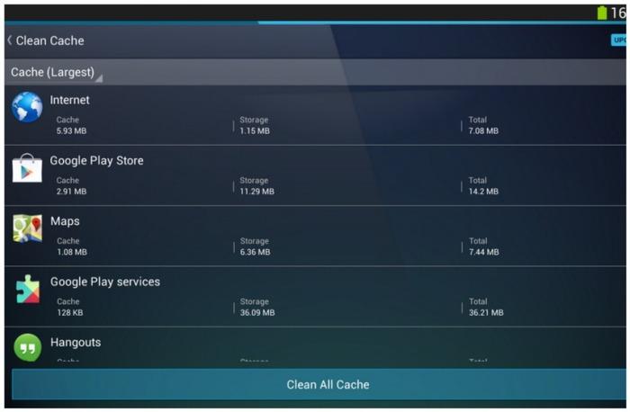 Aplikasi AVG Cleaner