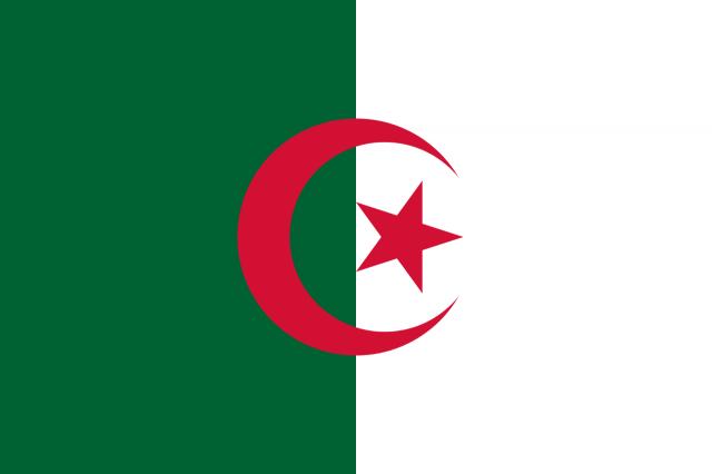 Bendera Aljazair