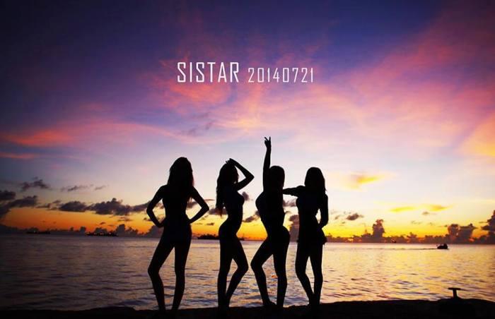 Girlgroup K-Pop SISTAR Comeback