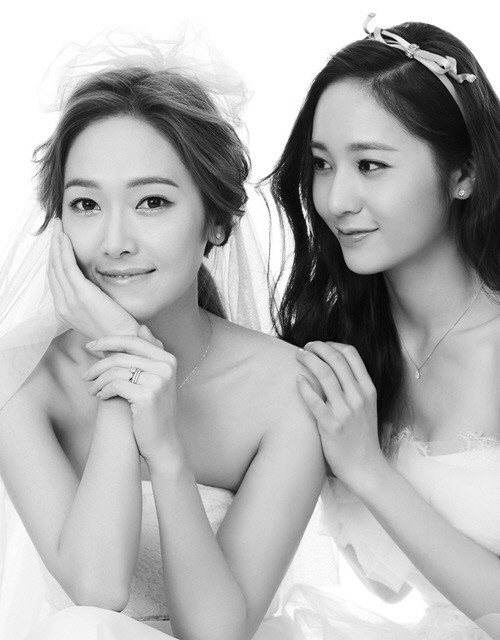 Jessican SNSD dan Krystal f(x)