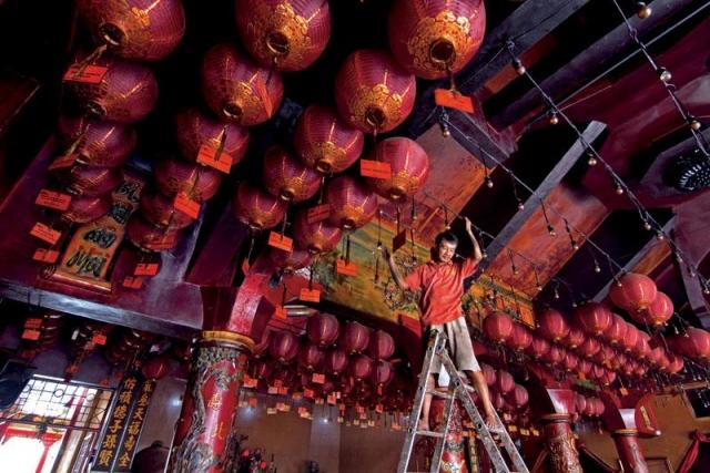 Lentera Lampion Tionghoa