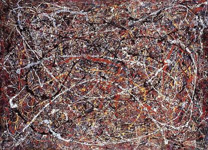 Lukisan Jackson Pollock