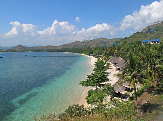 Obyek wisata Pantai Sekotong