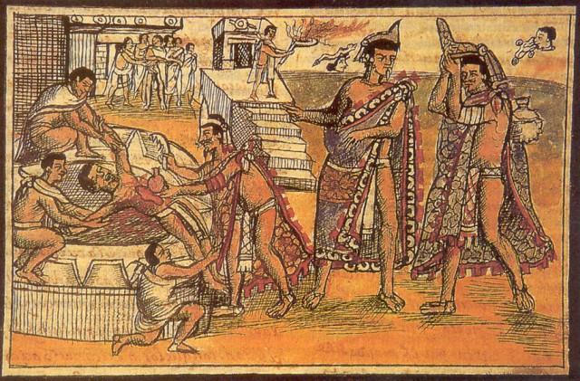 Pengorbana Manusia Suku Aztec