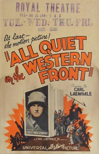 Poster Film Klasik Tahun 1930