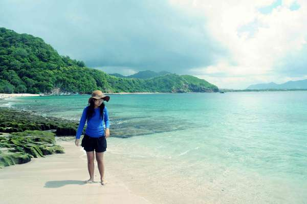 Suasana Pantai Tanjung Papuma