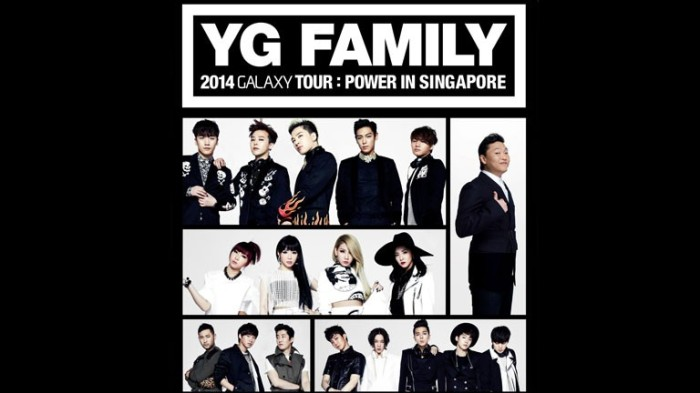 YG Family 2014 Galaxy Tour