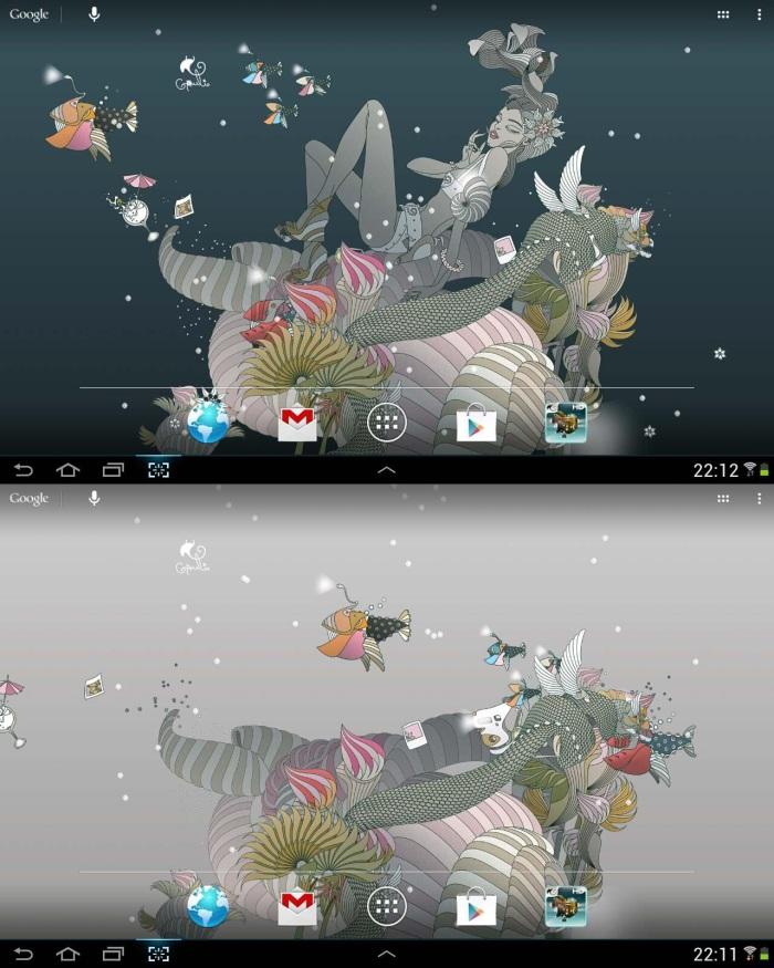 Balaika, Aplikasi Live Wallpaper Android