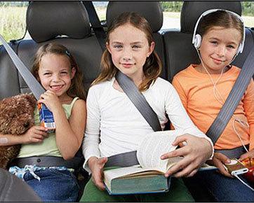 Cegah Mabuk Kendaraan Pada Anak