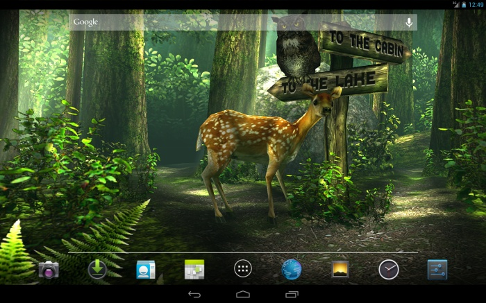 Forest HD, Aplikasi Live Wallpaper Android