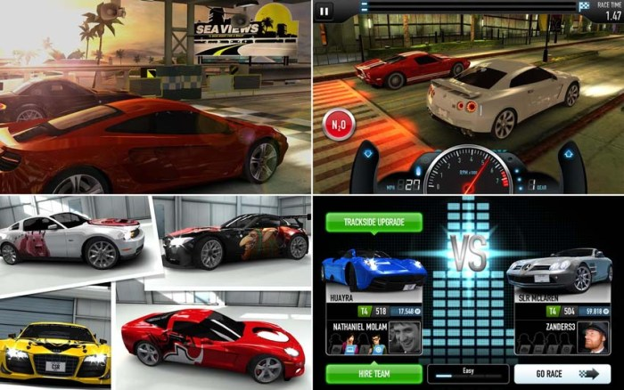Game CSR Racing dan CSR Classics