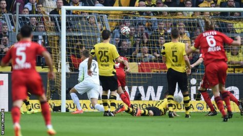 Gol Karim Bellarabi Tercatat Sebagai Gol Tercepat Sepanjang Sejarah Bundesliga