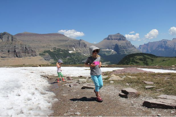 Mendaki gunung untuk Anak-anak