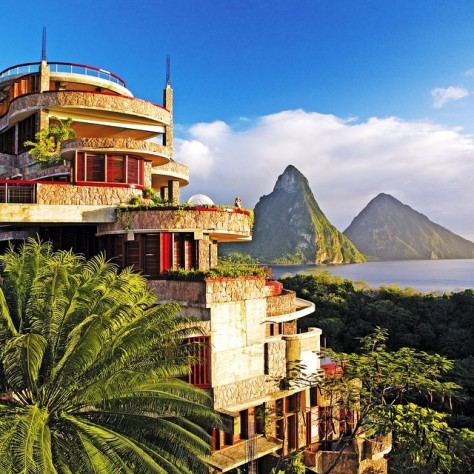 Hotel Unik Jade Mountain Resort, Soufriere, Saint Lucia