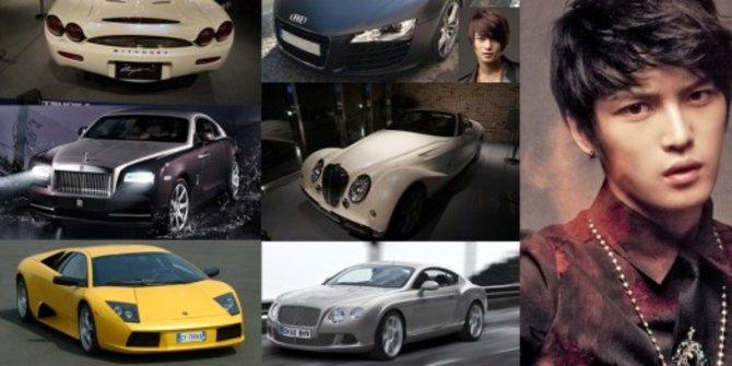 Jaejoong JYJ Koleksi Mobil Super Mewah