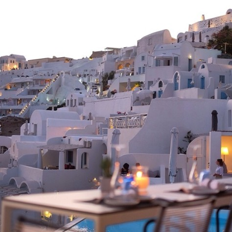 Katikies Hotel, Santorini, Yunani