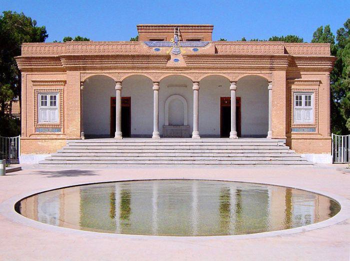 Kuil Zoroastrianisme di Yazd Iran