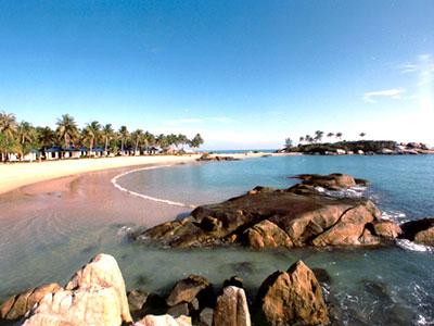 Obyek Wisata Pantai Parai Tenggiri, Pulau Bangka