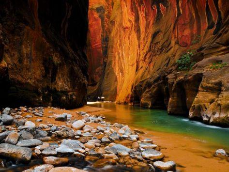 Obyek Wisata Taman Nasional Zion