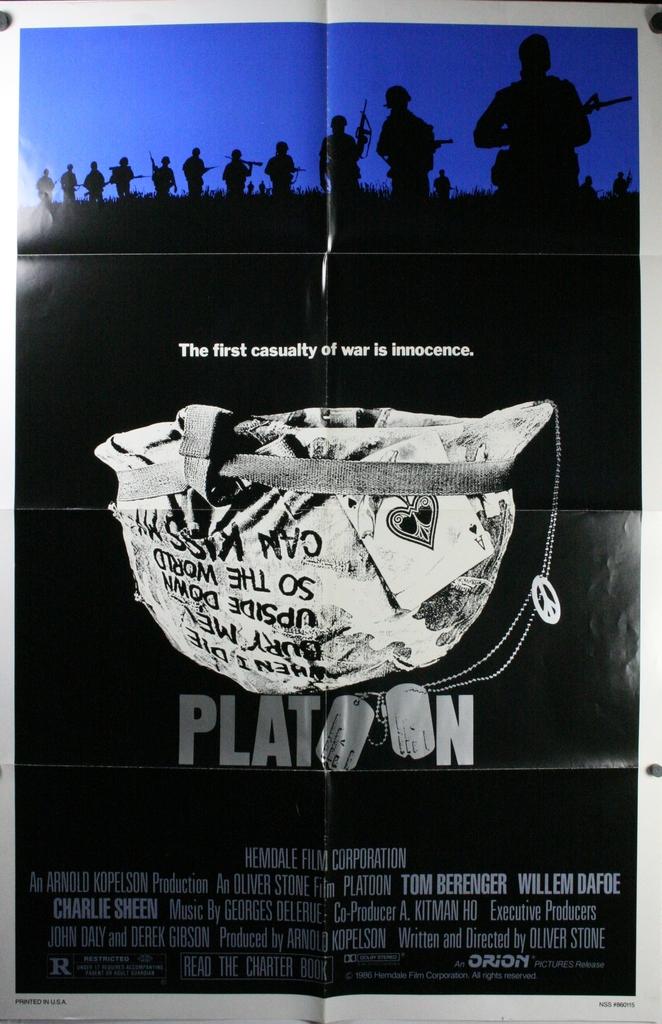 Platoon, Film Perang Terbaik Sepanjang Masa