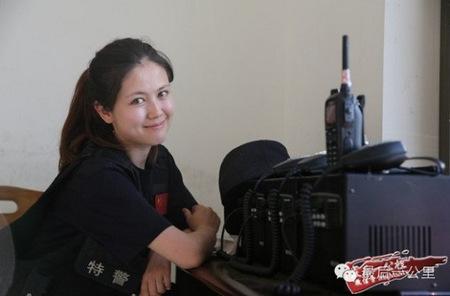 Polisi Cantik Asal Tiongkok