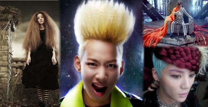 Rambut Gila Bintang K-Pop