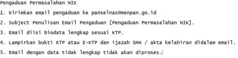 Solusi NIK Tidak Bisa Untuk Mendaftar CPNS 2014