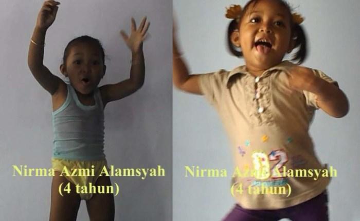 Video Lucu Anak Kecil Menari