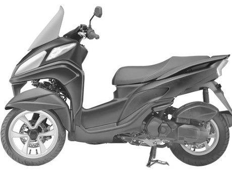 Yamaha Matic Tricity 2014
