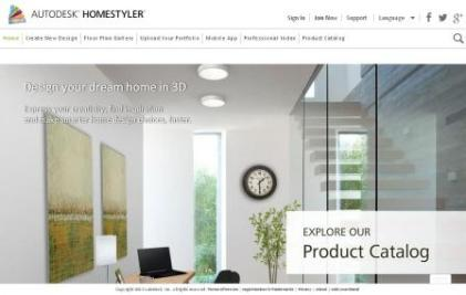 Download Autodesk Homestyler