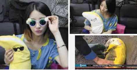 Boneka Pisang milik EunB Ditemukan di Tempat Kecelakaan