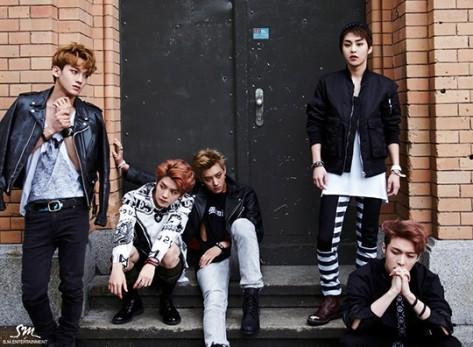 Foto kelompok EXO di Berlin