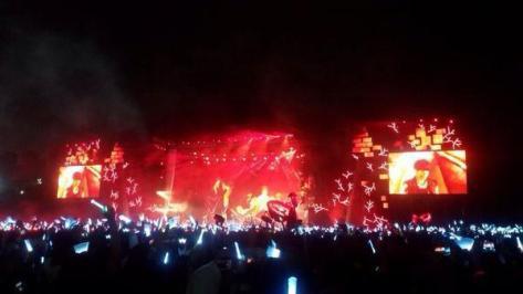 Foto konser EXO di Jakarta sangat megah