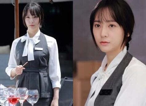 Foto Krystal F(x) Ketika Menjadi Pelayan