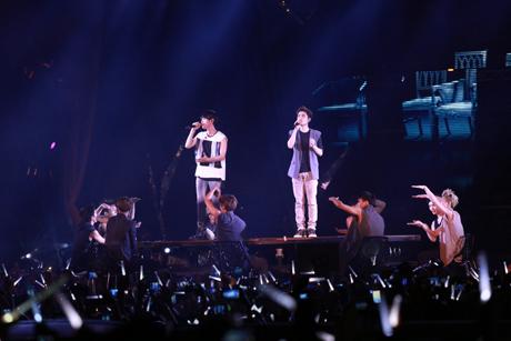 Foto Saat EXO konser di Jakarta