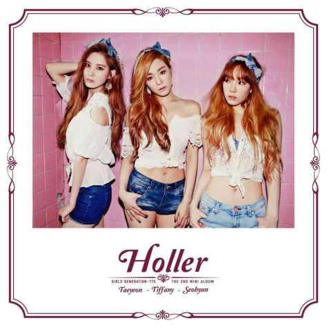 Foto Seksi TaeTiSeo dalam Album Holler