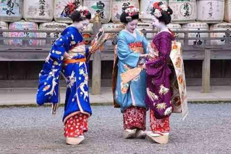Ini trik cara mendapatkan Geisha di Jepang
