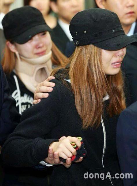Kesedihan Ashley and Zuny atas meninggalnya EunB dan RiSe