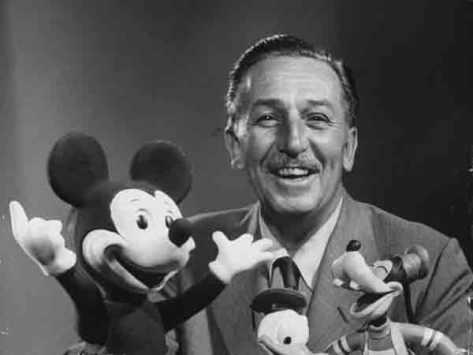 Kisah sukses Walt Disney yang inspiratif