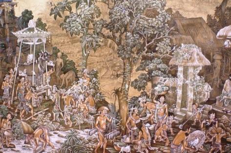 Lukisan Orang Bali
