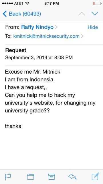 Mahasiswa Indonesia Minta Bantuan Hacker