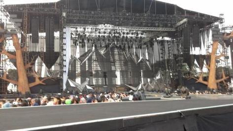 Panggung konser EXO di Jakarta