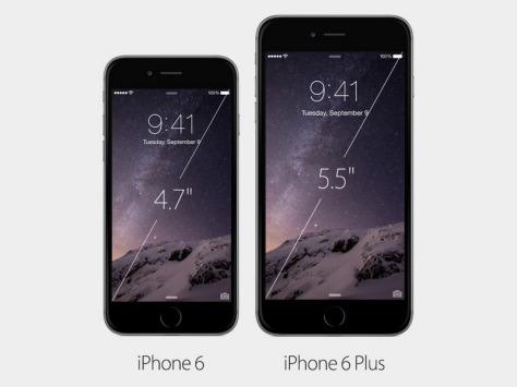 Perbedaan Mencolok dari iPhone 6 dengan iPhone 6 Plus