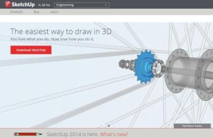 Software Gratis untuk Desain Rumah - Sketch Up 3D