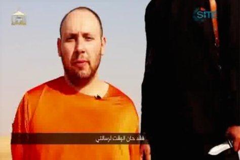 Foto Pemenggalan Wartawan Steven Sotloff oleh ISIS